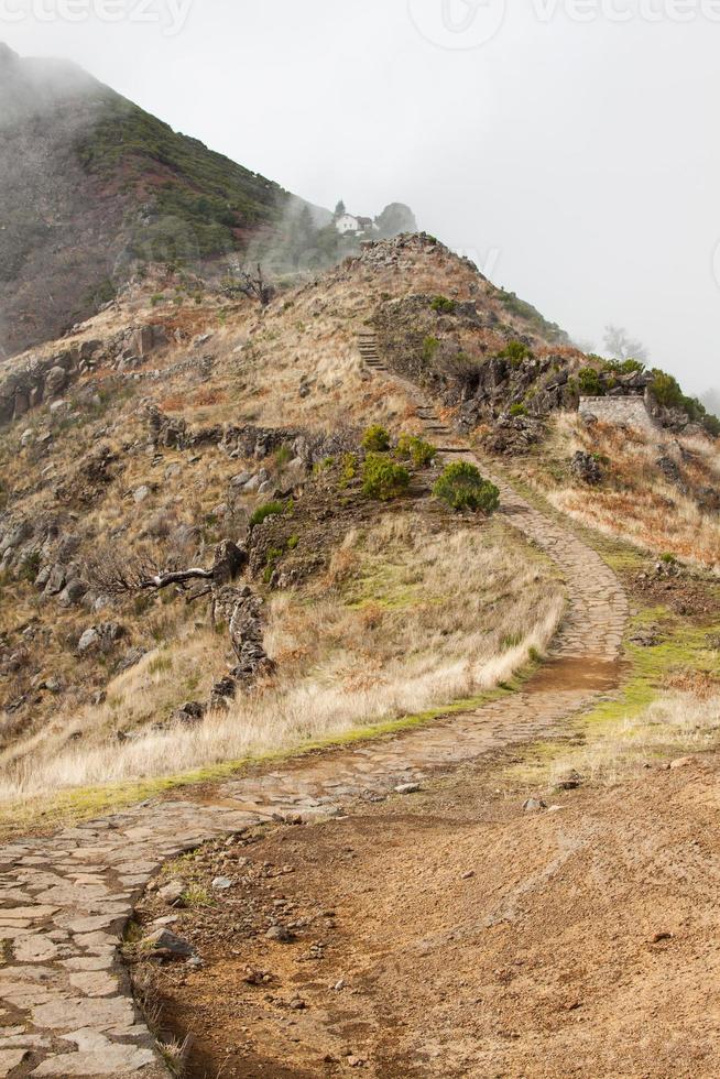 Pico do Arieiro på ön Madeira, Portugal foto