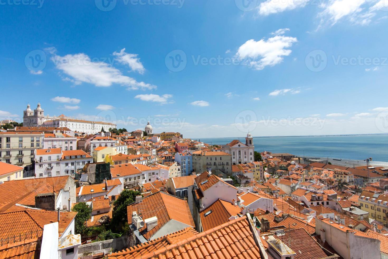 utsikt över Lissabon foto