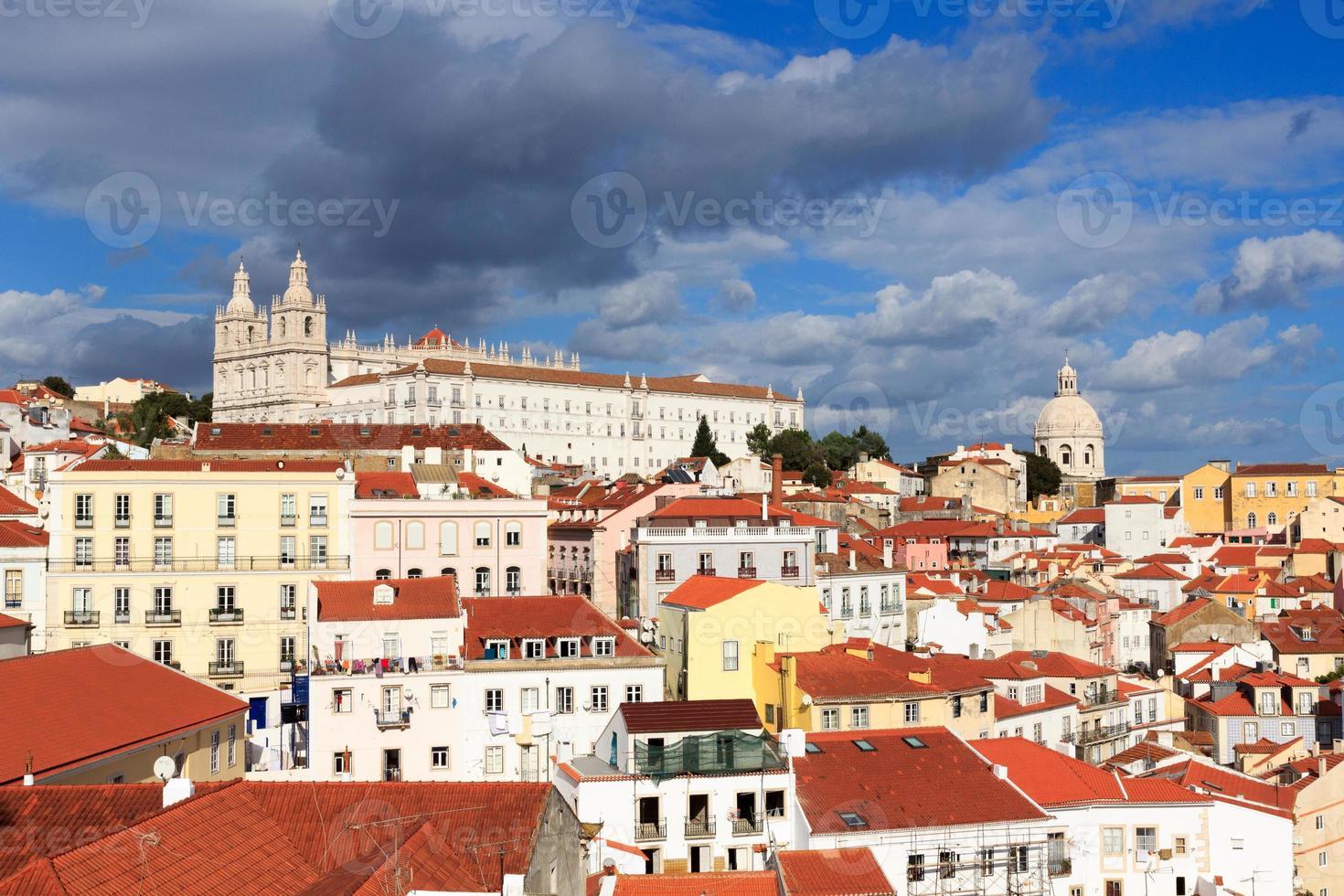 klostret Sao Vicente de Fora i Lissabon foto