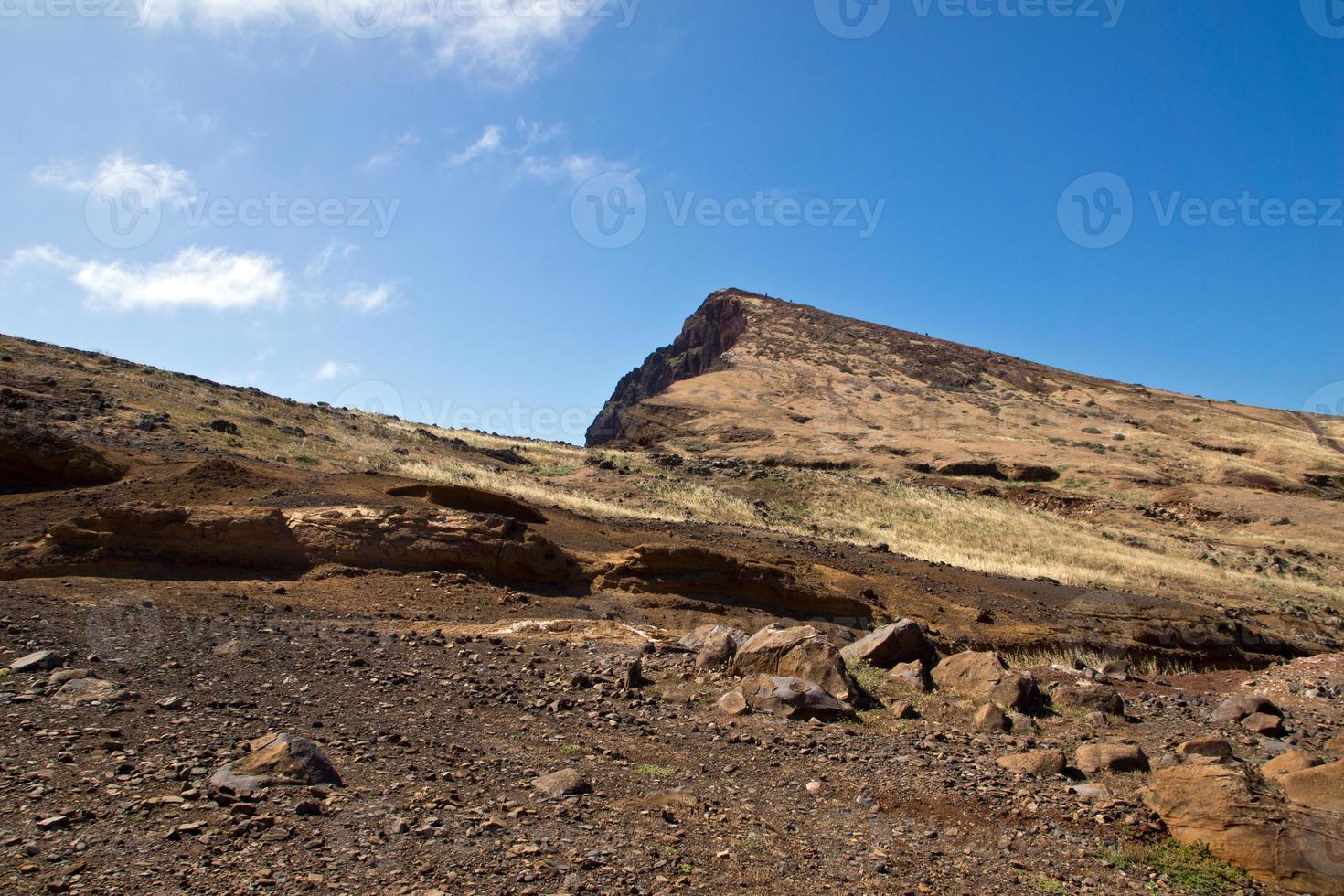landskap av Ponta de São Lourenço, Madeira foto