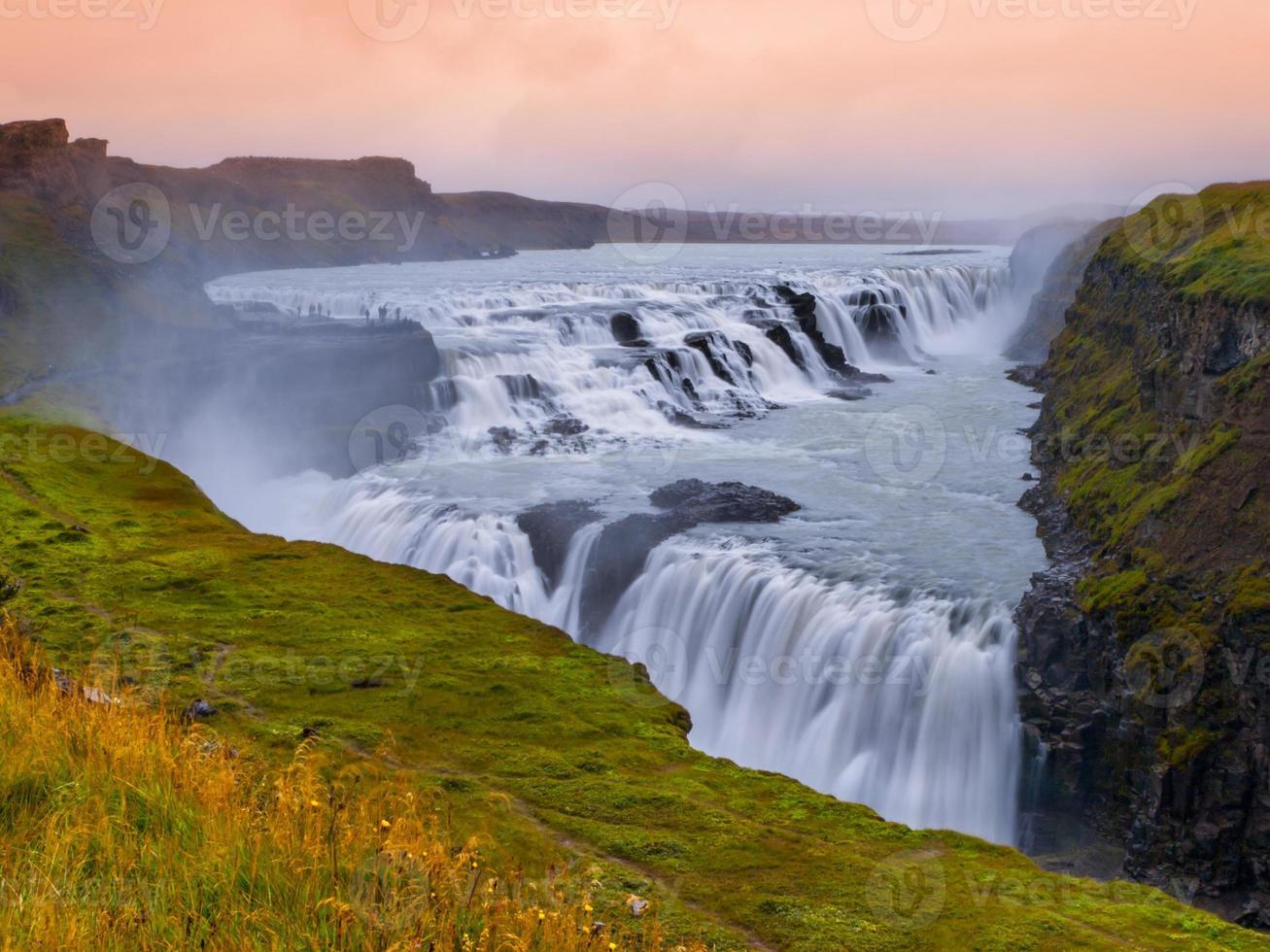 Gulfoss vattenfall foto
