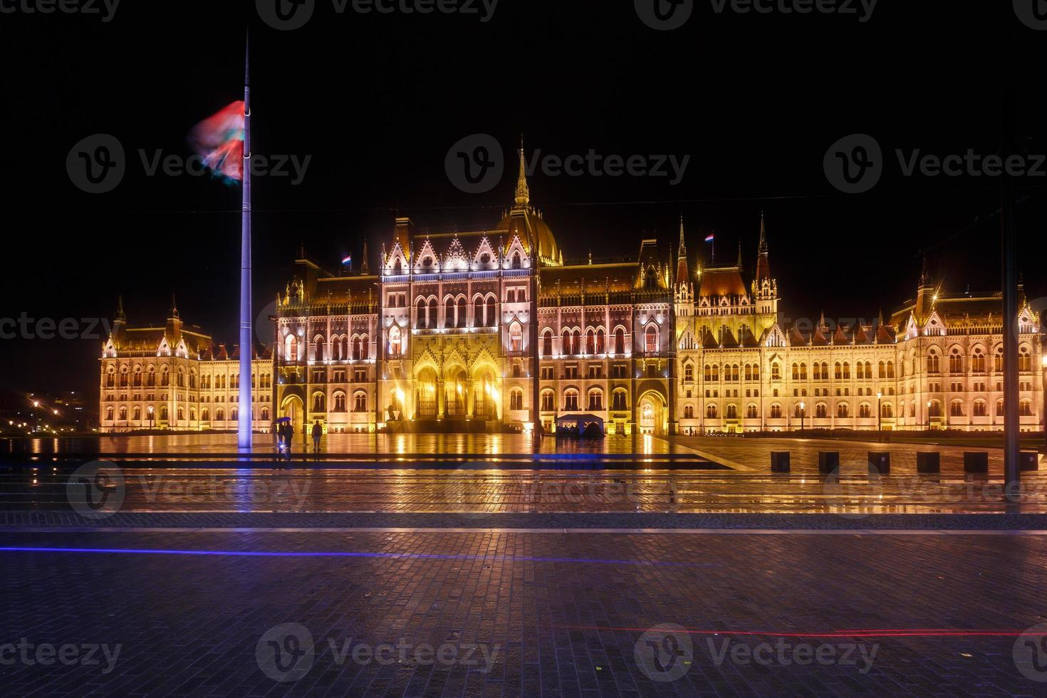 parlamentet i budapest foto