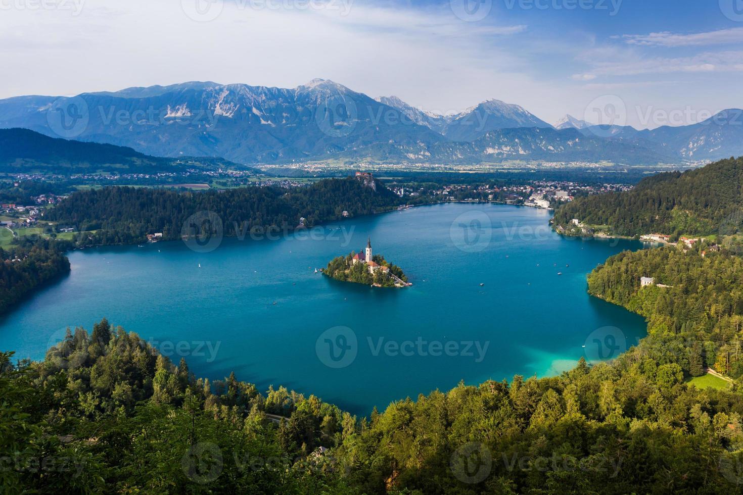 Bled Lake, Slovenien, Europa foto