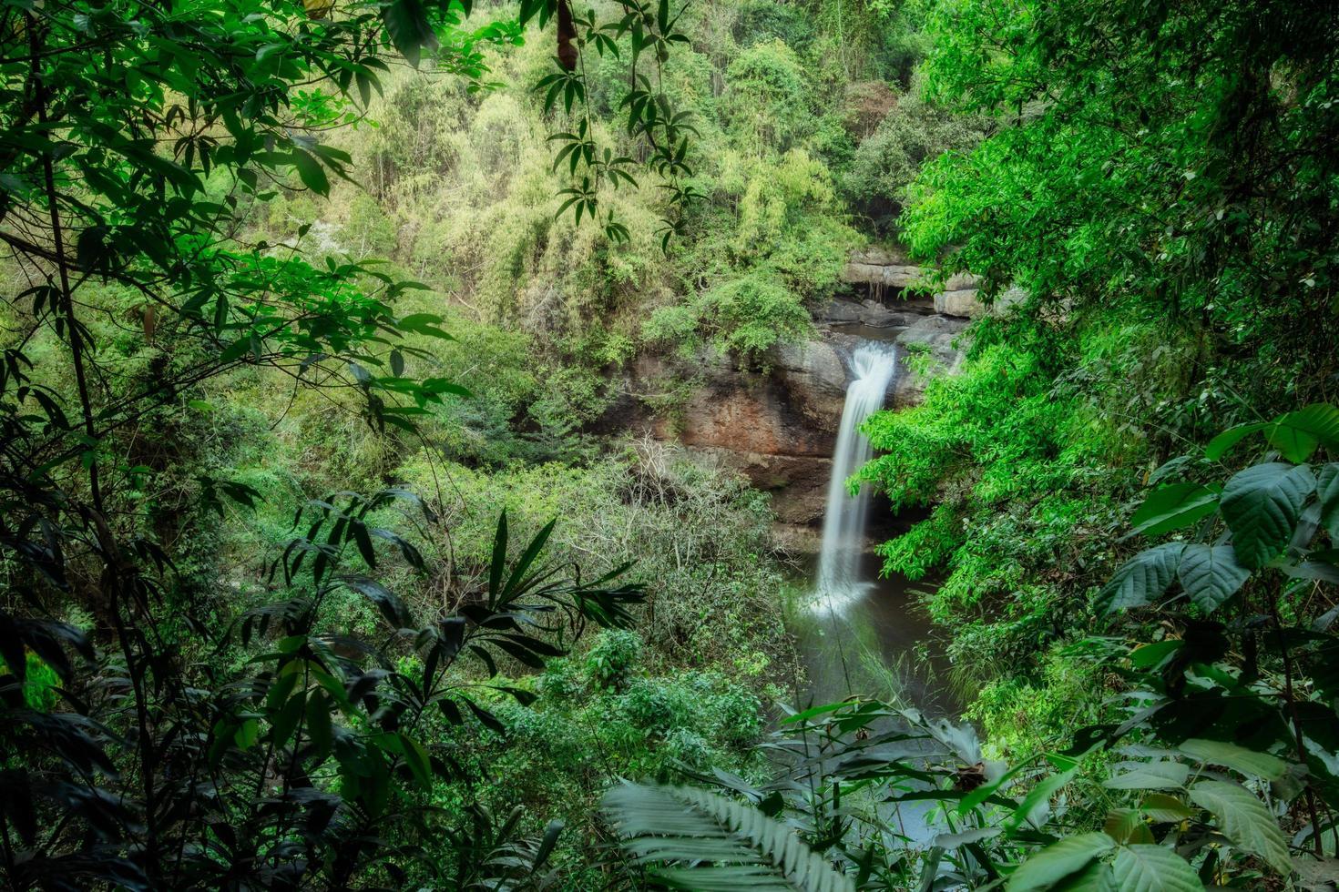 det haew suwat vattenfallet foto