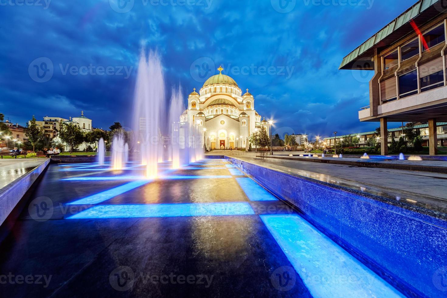 saint sava-templet foto