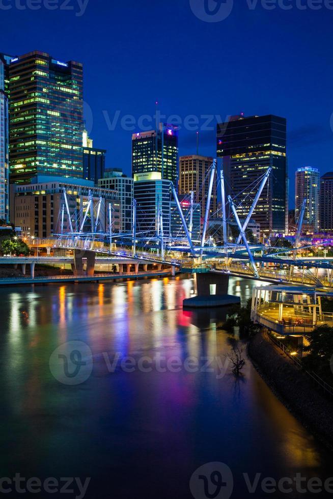 Australien. kuprila bridge, brisbane foto
