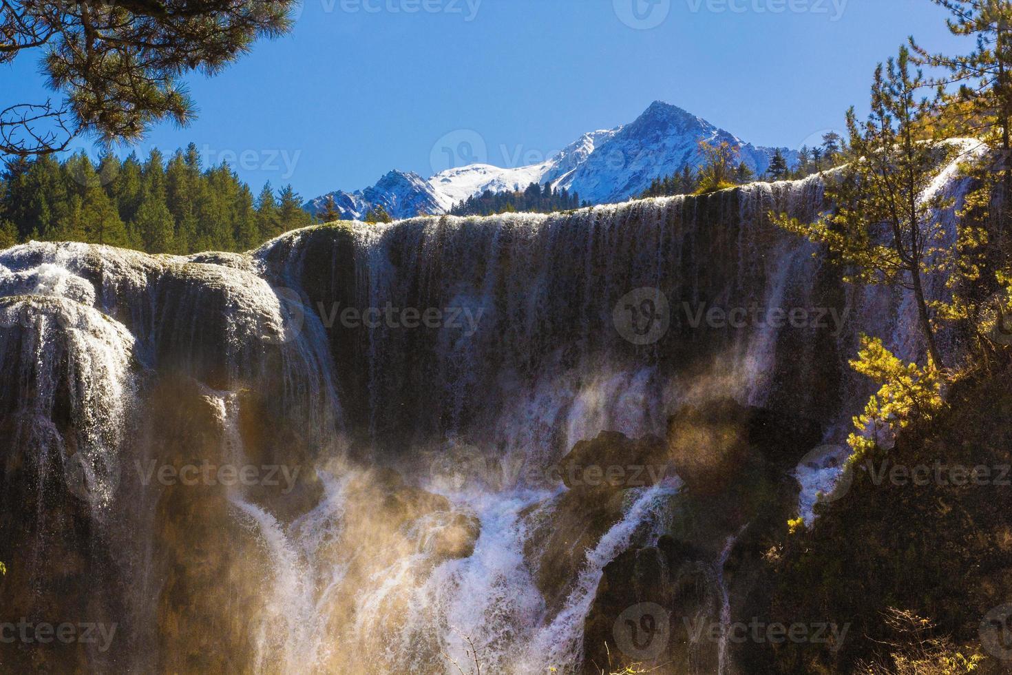 pärla stim vattenfall foto