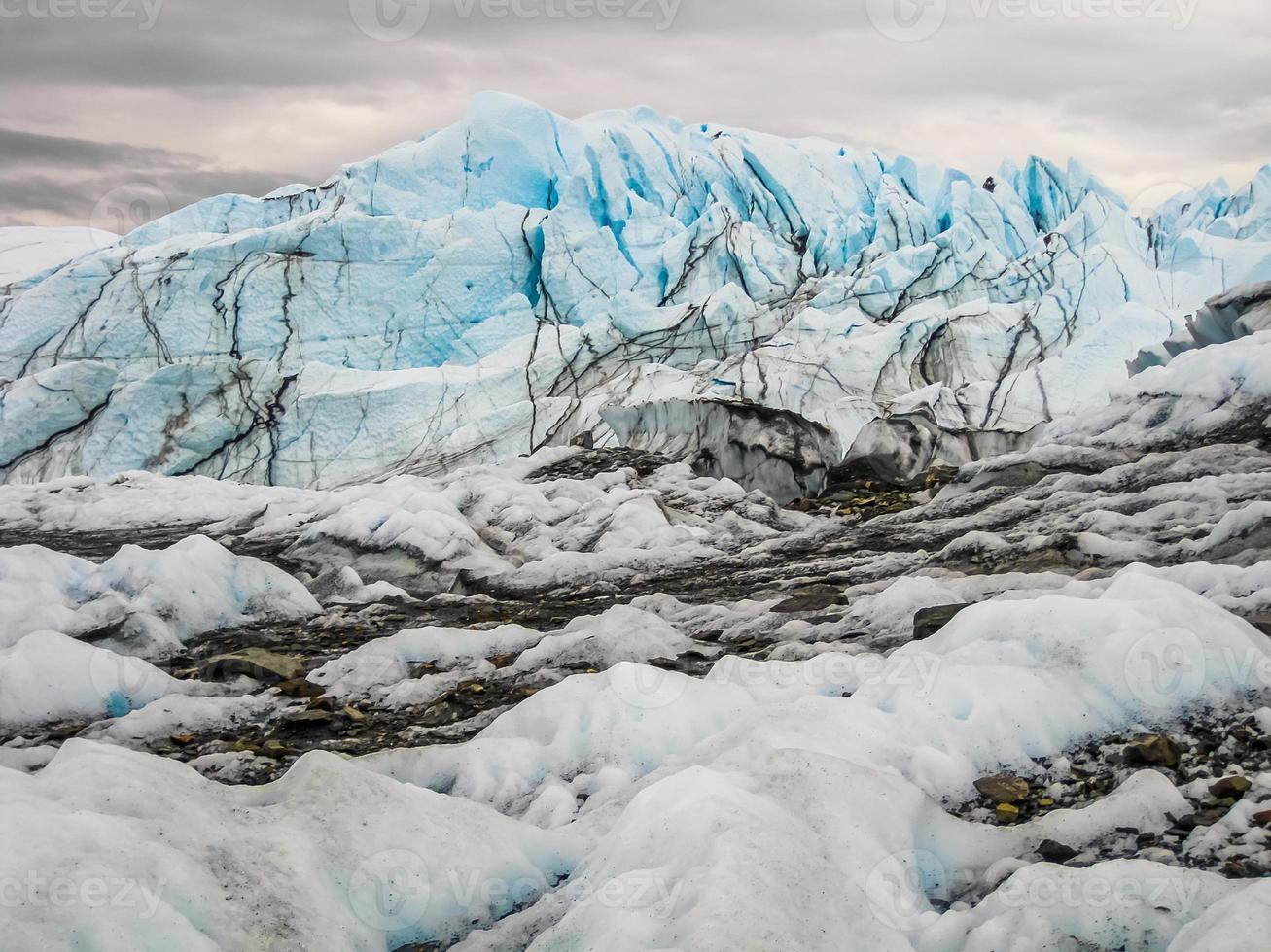 alaska matanuska glaciär foto