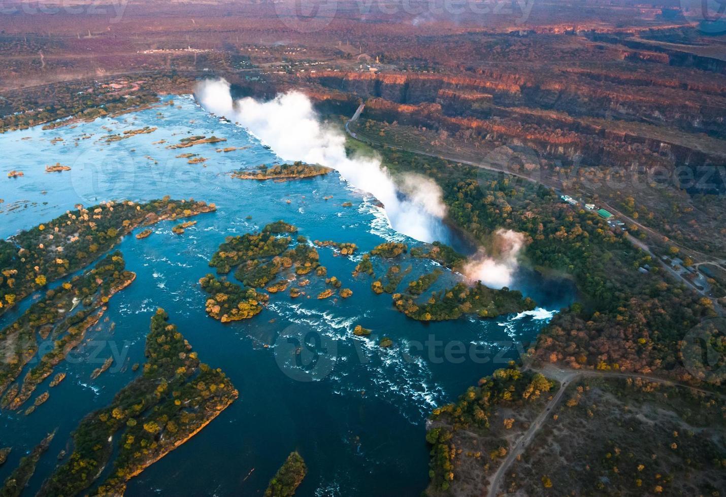 victoria faller från luften foto