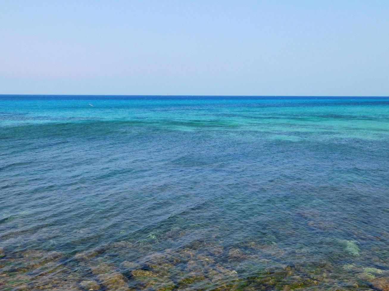 blå havet vid dagtid foto