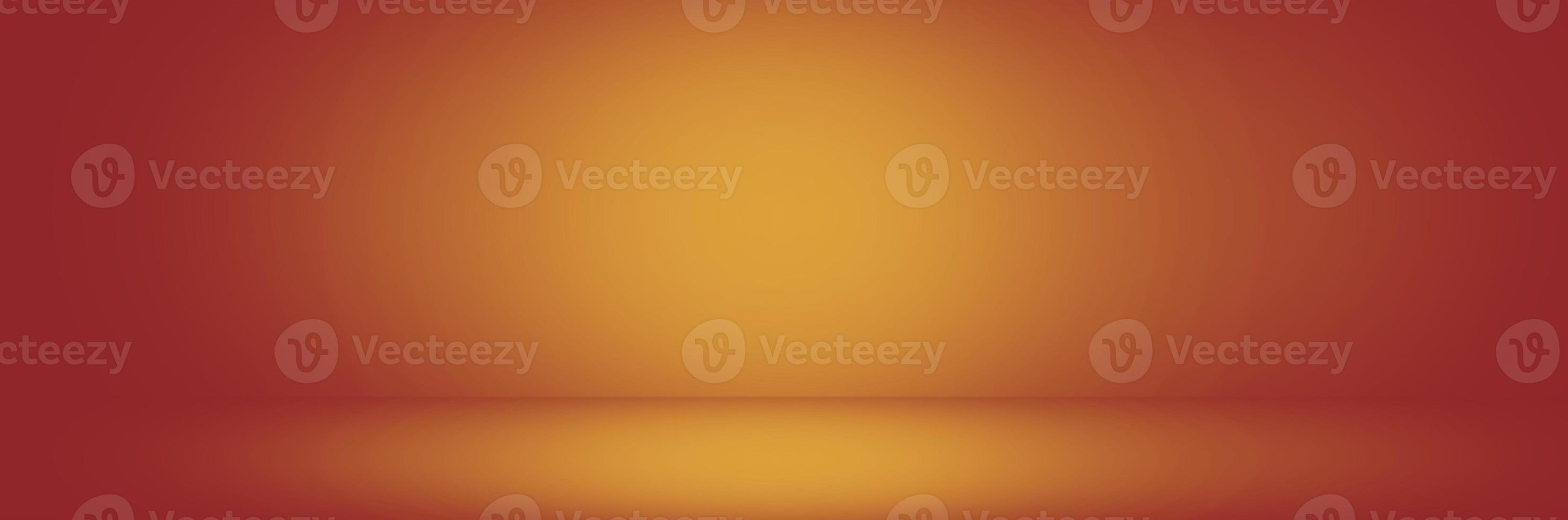 orange och gul studiobakgrundsbanderoll, tonad bakgrund foto