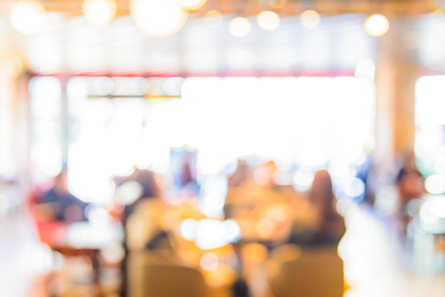 abstrakt oskärpa kafé bakgrund foto