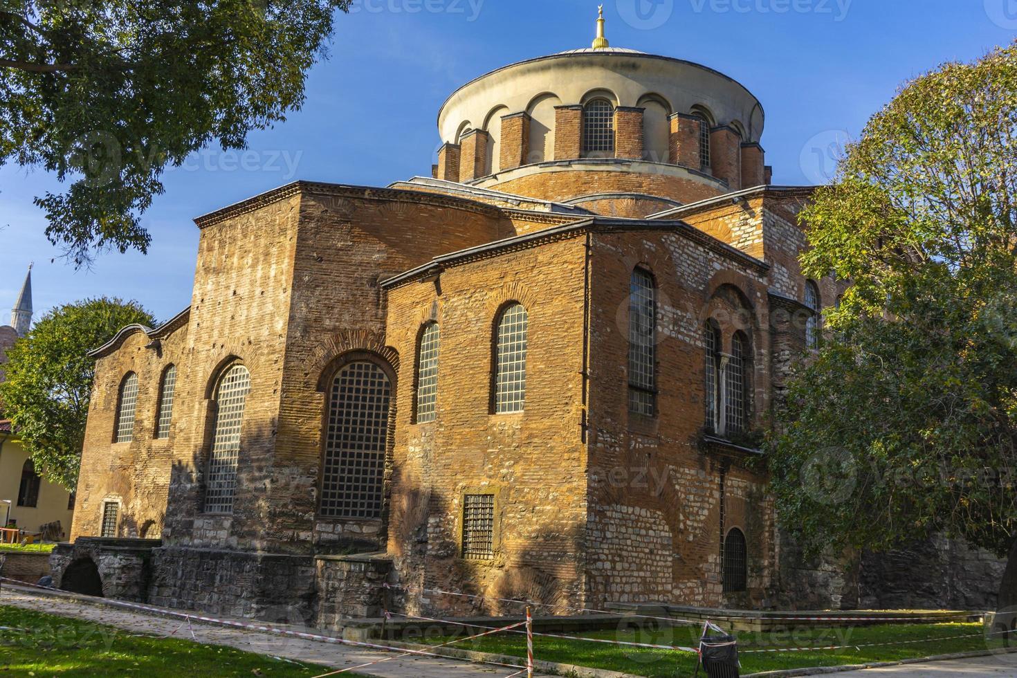 Grekiska östra ortodoxa kyrkan Hagia Irene i Istanbul, Turkiet foto