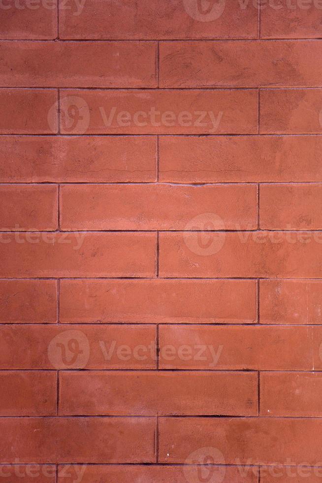 röd tegelvägg foto