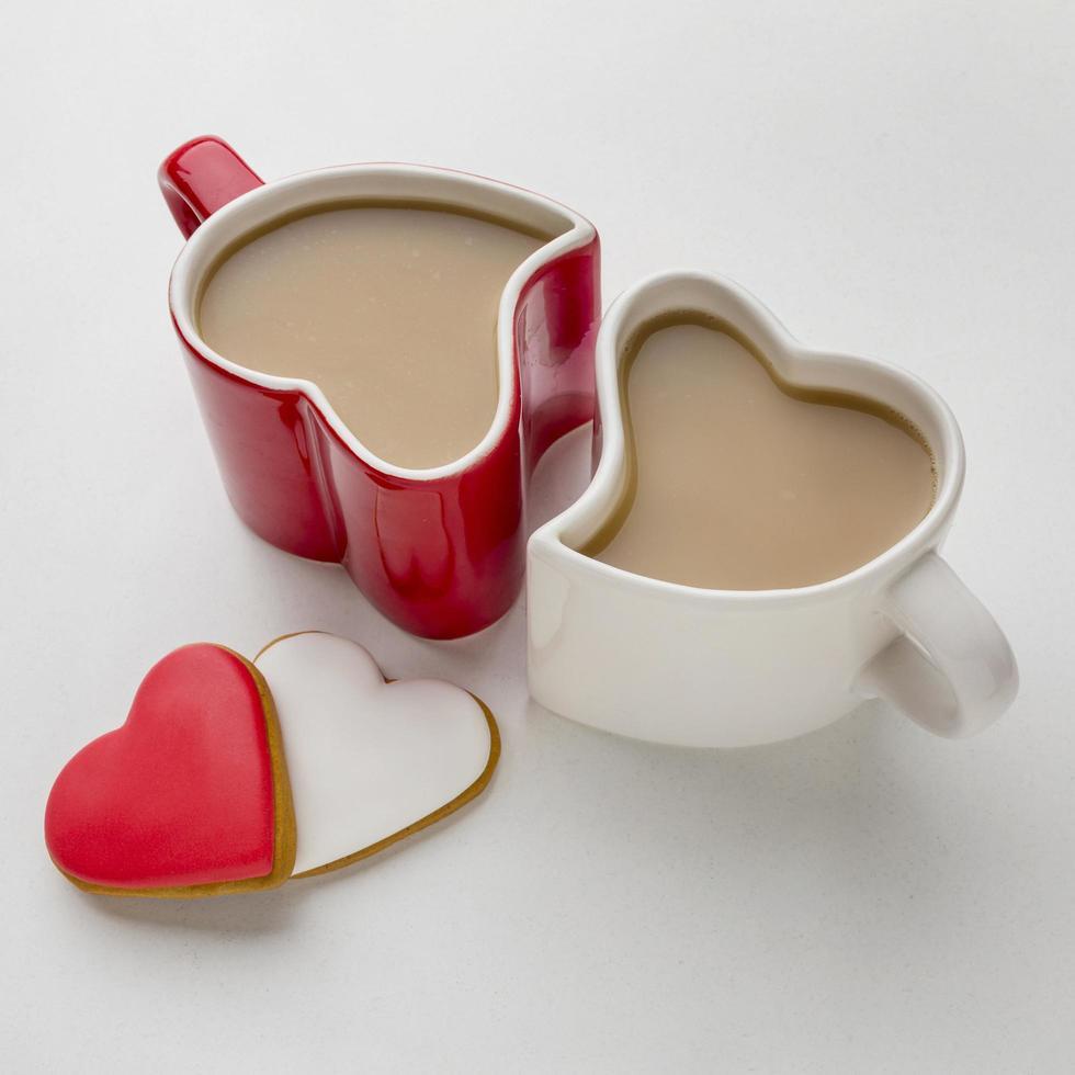 alla hjärtans dag kaffe foto