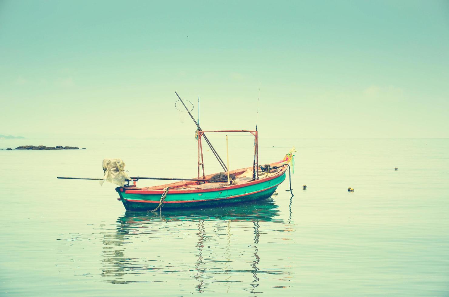 båt på havet foto