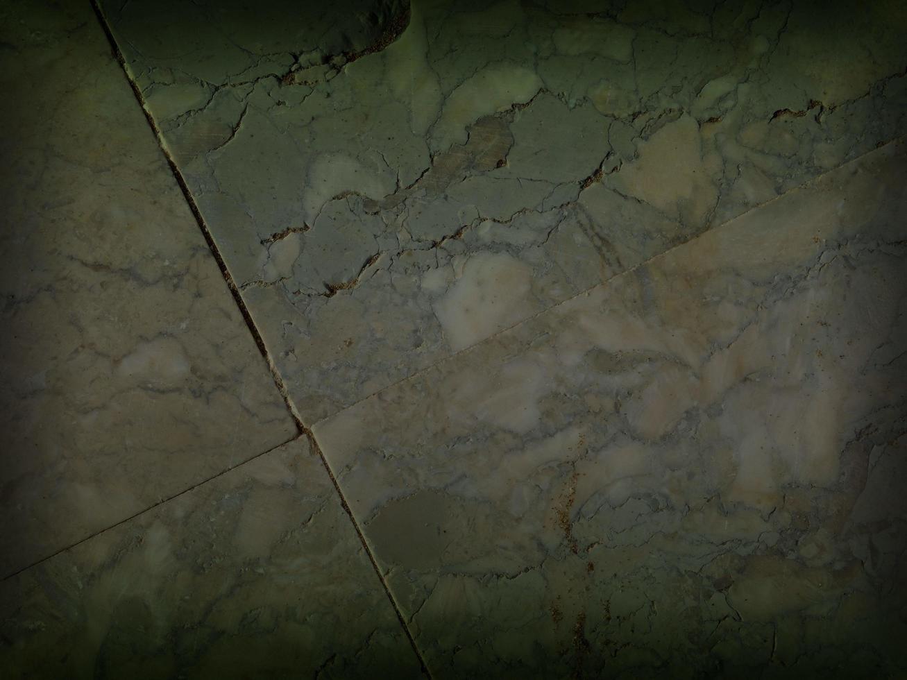 panel av grön marmor med vinjettskuggram för bakgrund eller konsistens foto