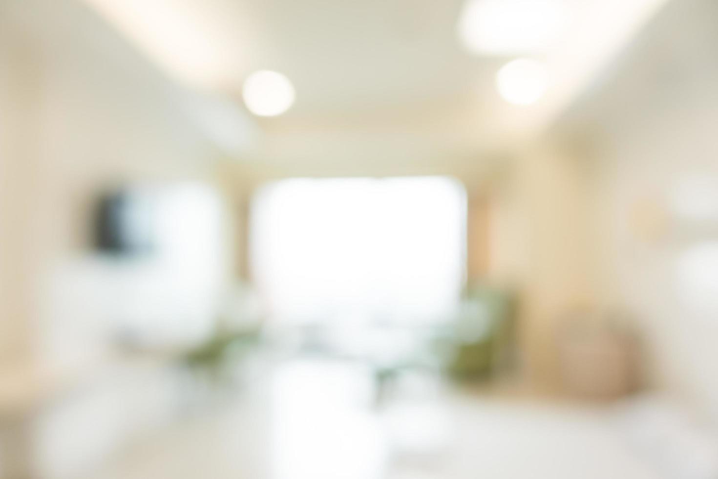 abstrakt defokuserad sjukhusinredning för bakgrund foto