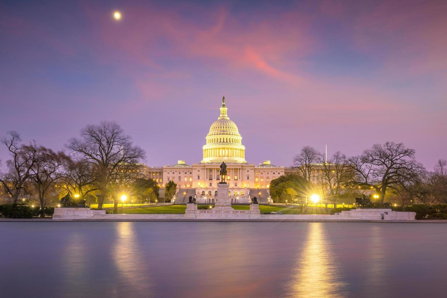 Förenta staternas huvudbyggnad DC foto