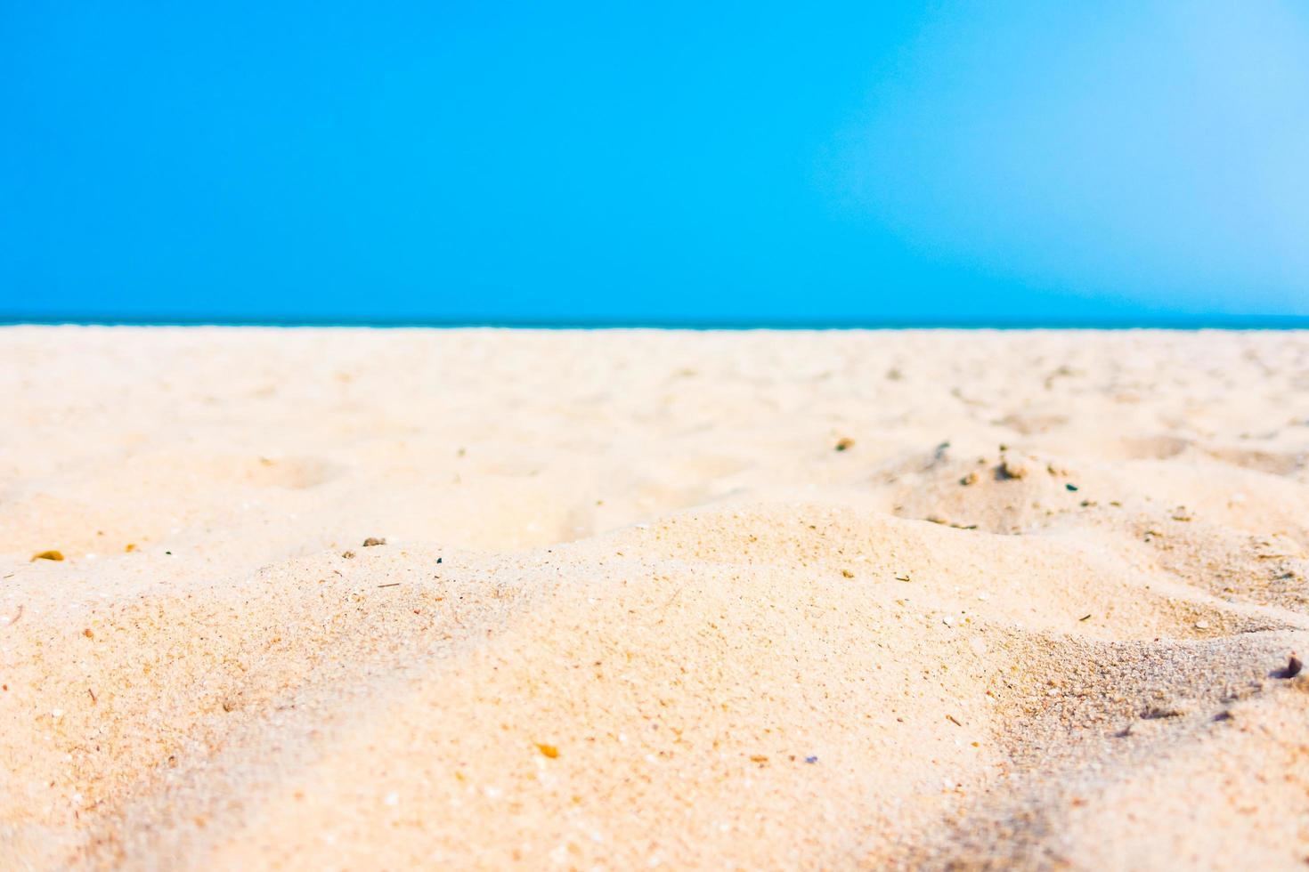 sand på stranden foto