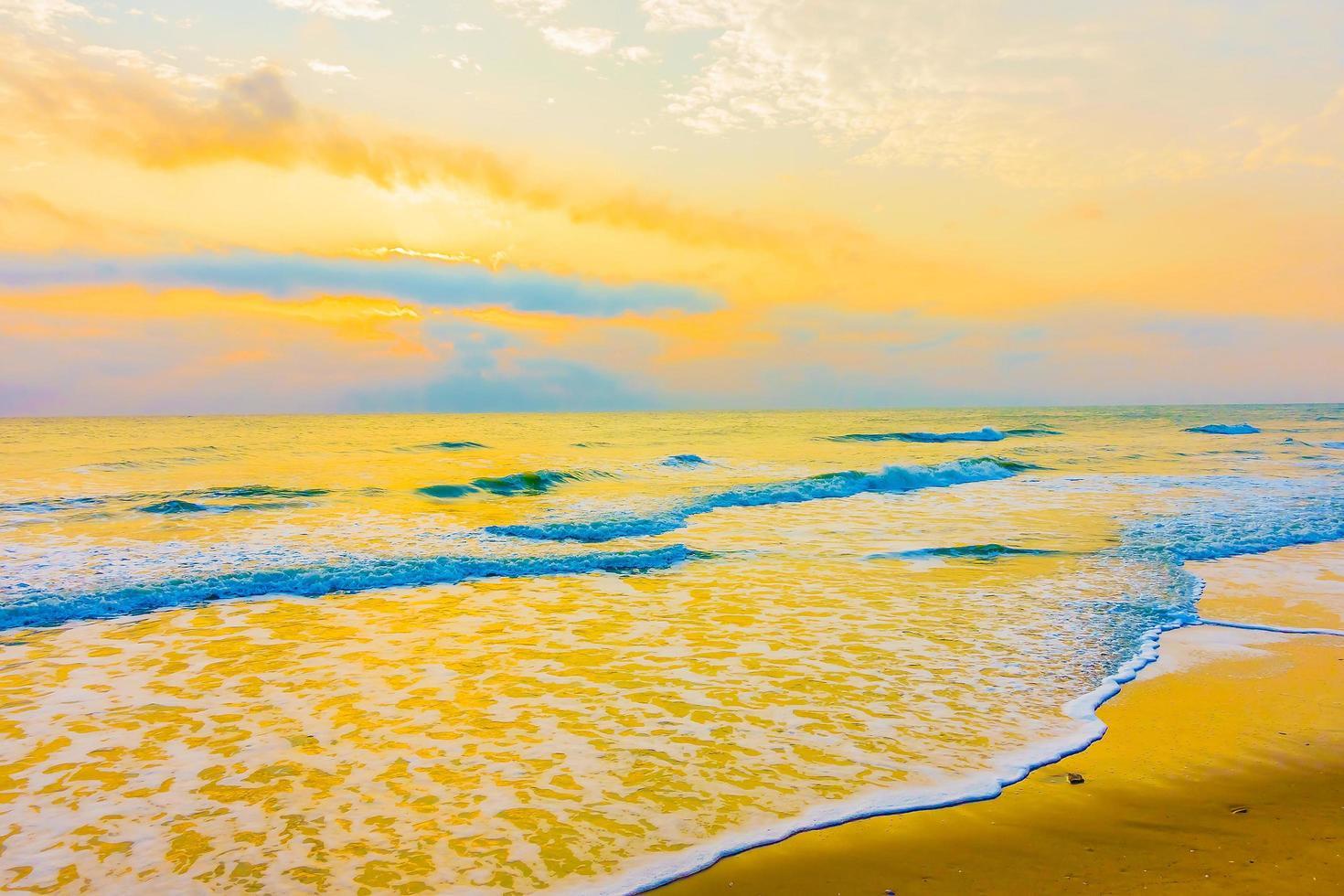 vintage hav och strand foto