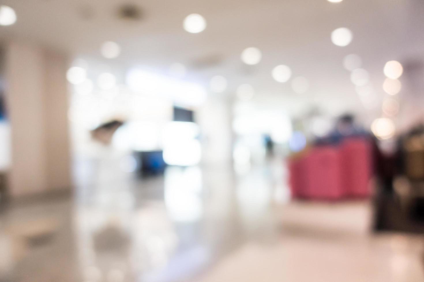 abstrakt oskärpa superstore och köpcentrum foto