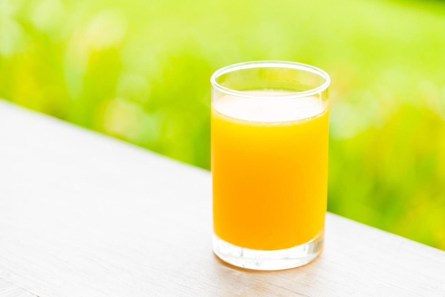 apelsinjuice glas foto