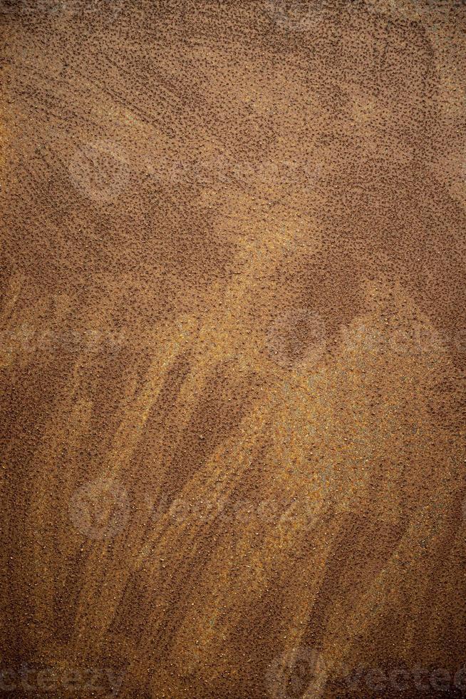 industriell bakgrund för brunt stålnärbild foto
