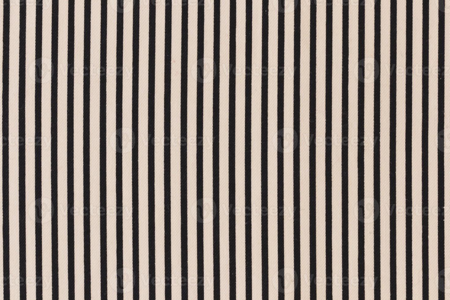svart randig mönster grädde bakgrund foto