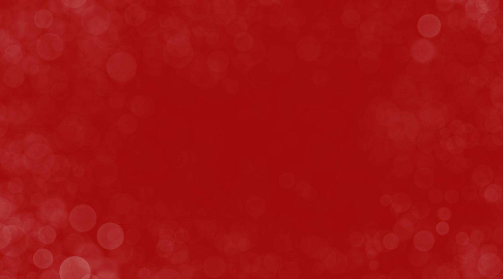 abstrakt med bokeh cirklar på en röd bakgrund foto