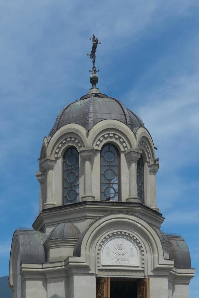kapell för att hedra nya martyrer och bekännare ryska i Yalta, Krim foto