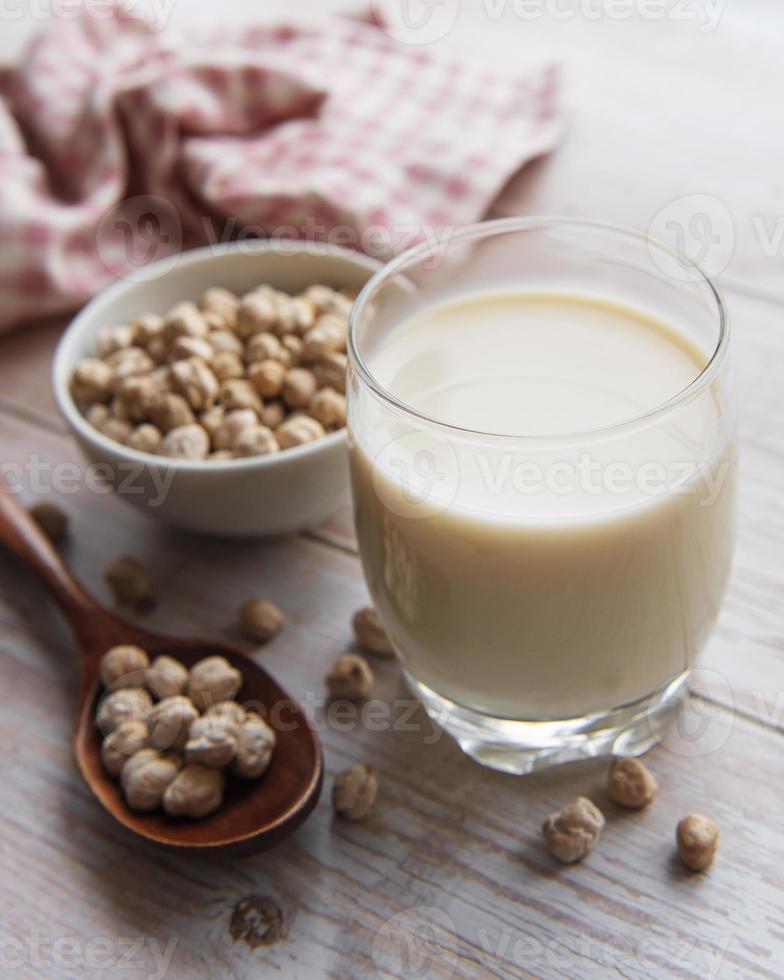 kikärter mjölk med kikärter foto