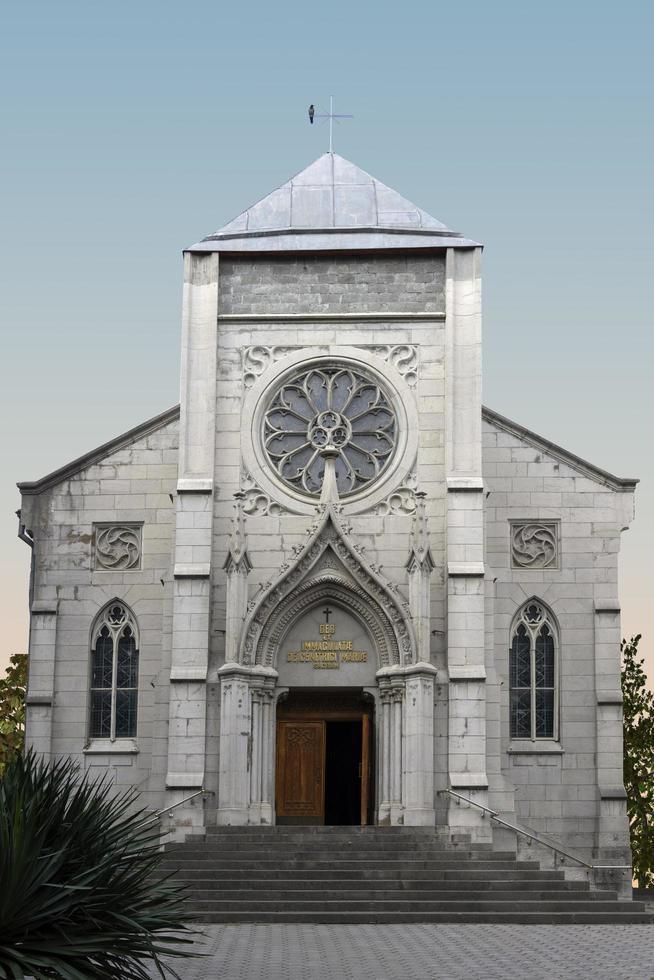 Katolsk kyrka. yalta, krim. foto