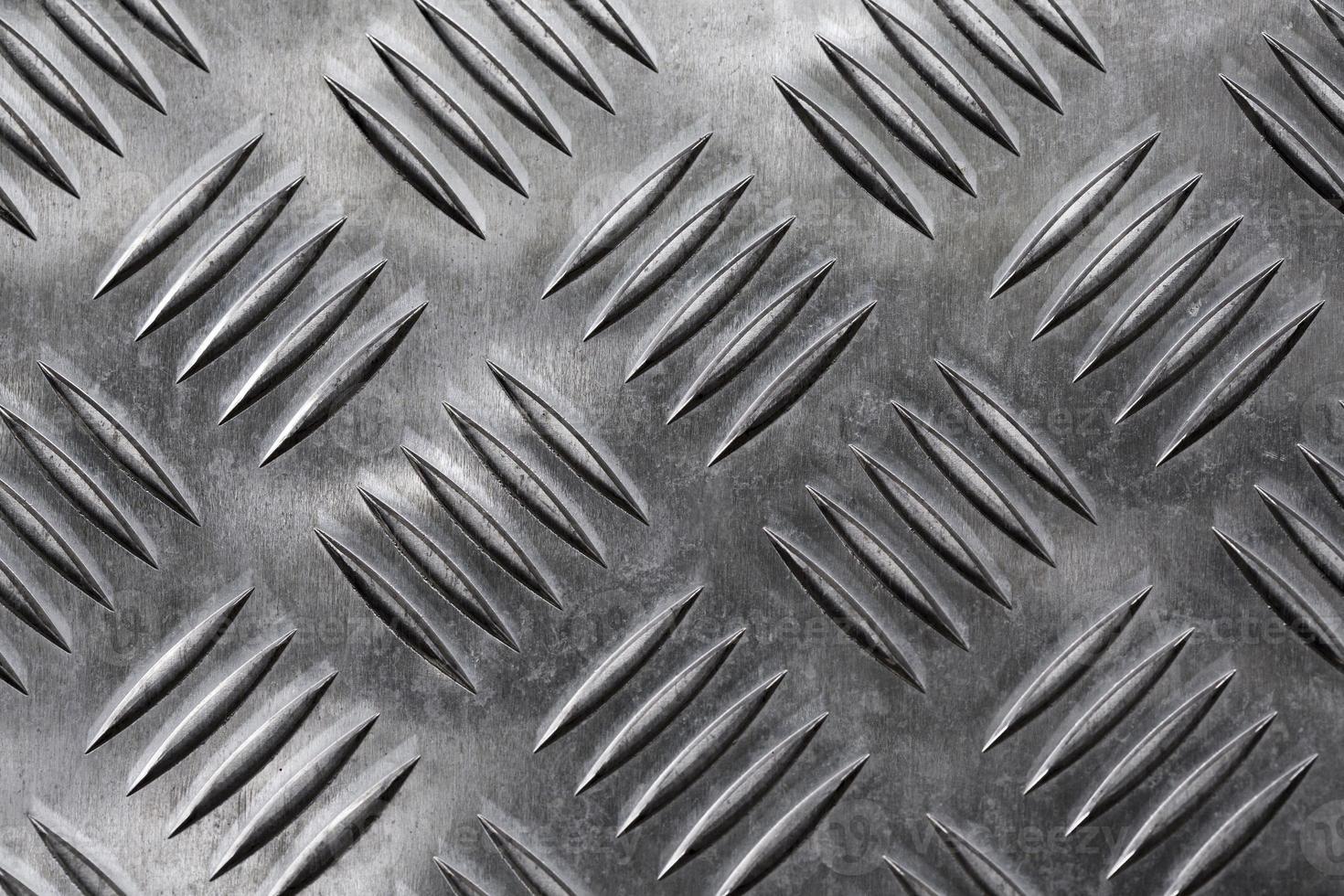 silvermetallisk bakgrund med ventilationshål foto