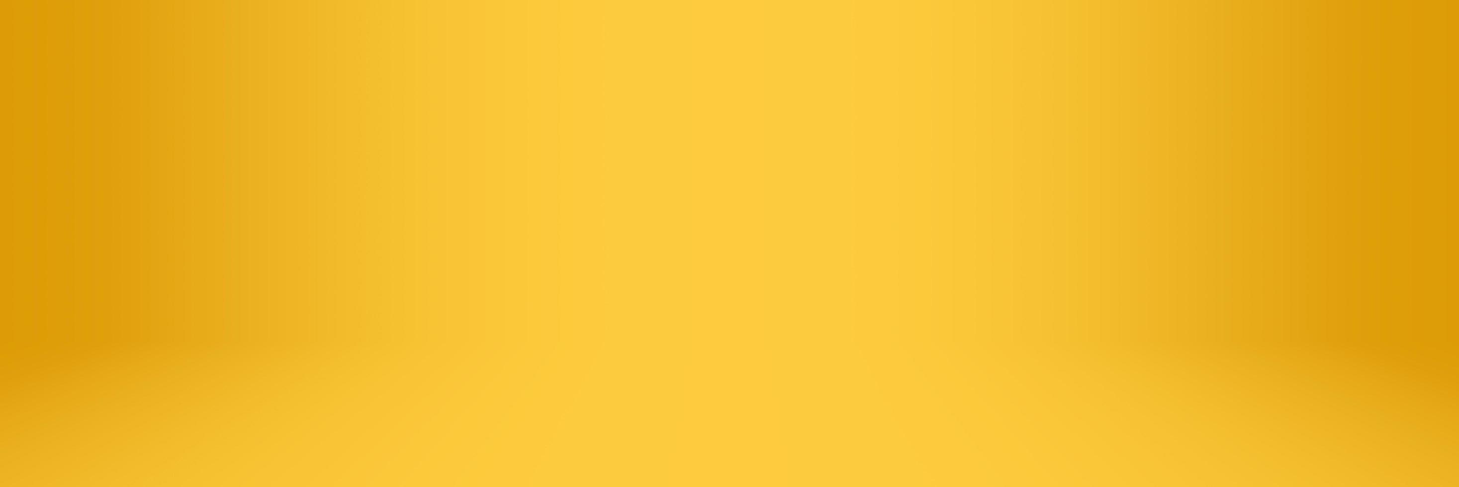gul och orange mjuk tonad abstrakt studio och showroom bakgrund foto