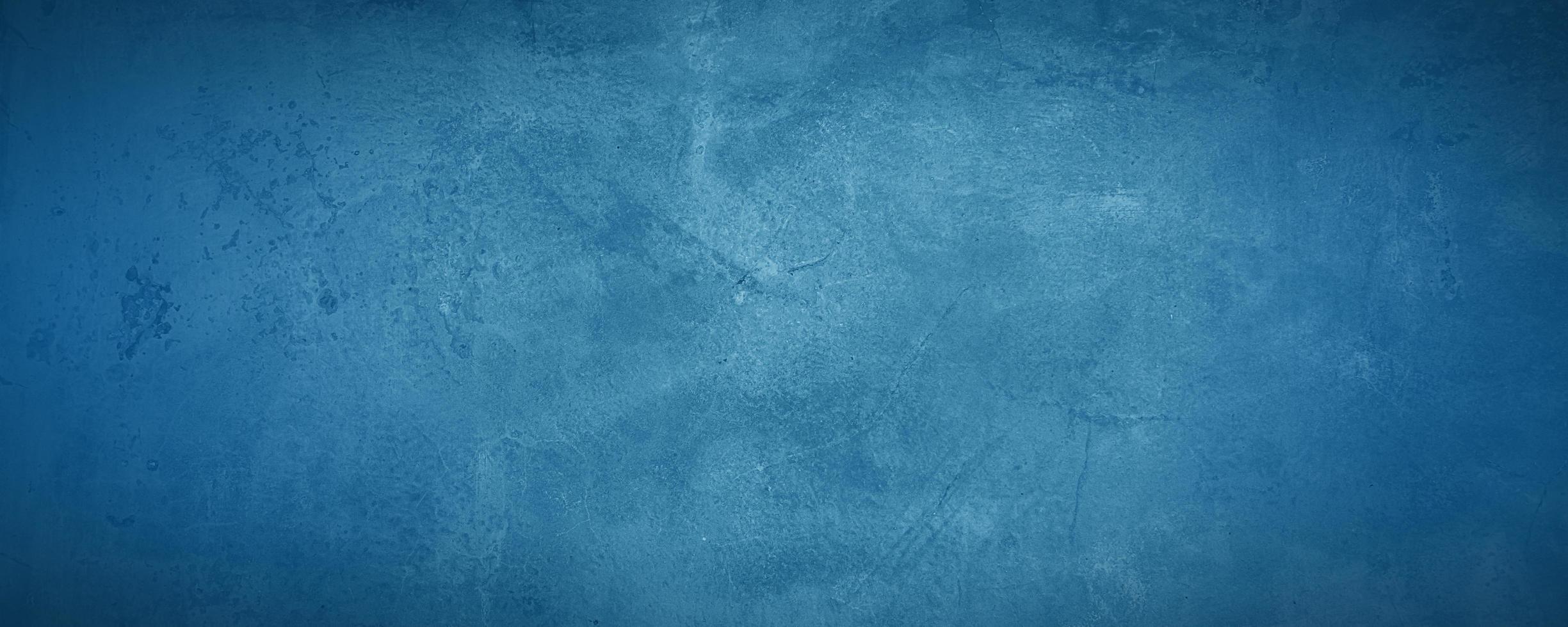 mörk och blå konkret och cementvägg för att presentera produkt och bakgrund foto