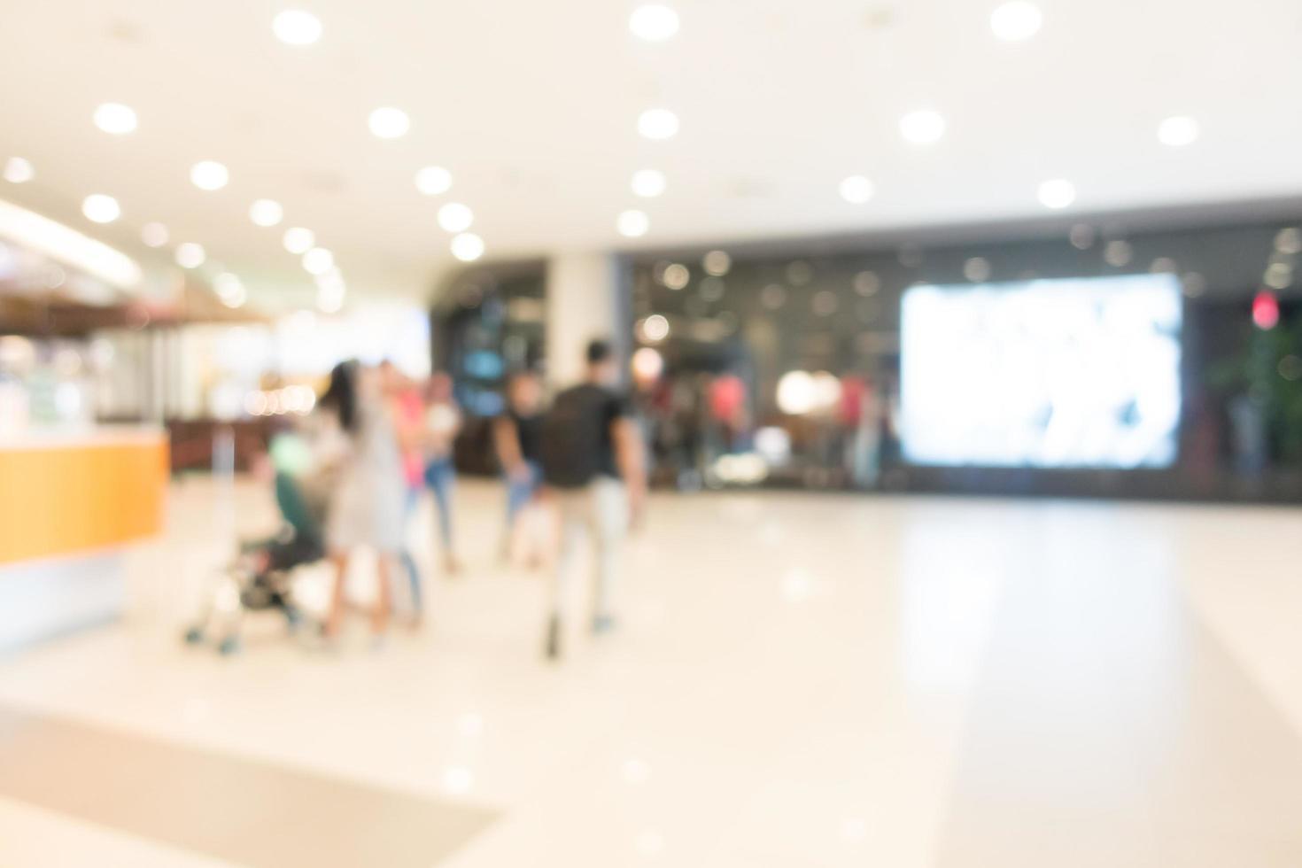 oskärpa köpcentrum foto