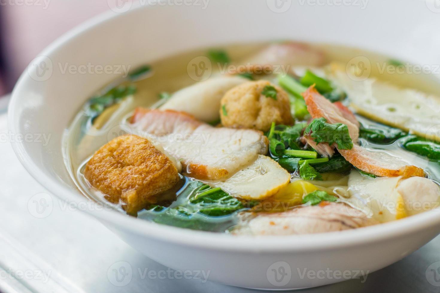 nudel för traditionell gourmet dumpling bild foto