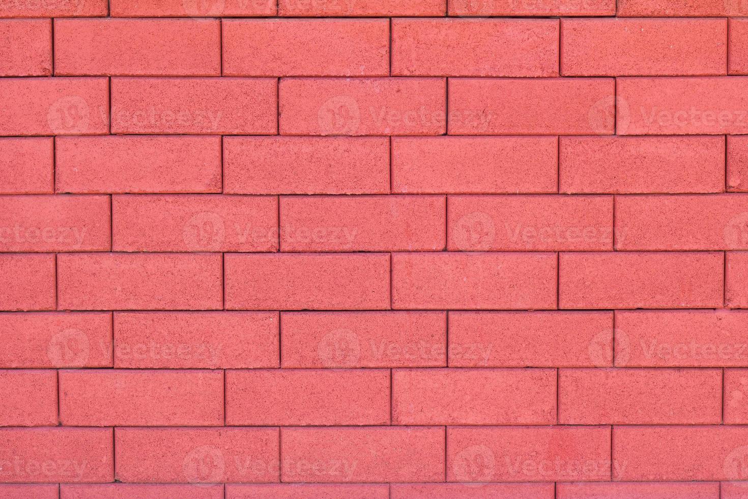 glamour röd tegelvägg bakgrund foto