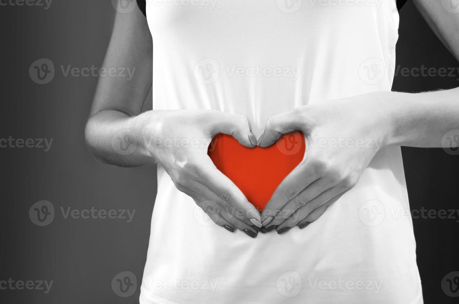vård av hälsa. tarmens hälsa, mage. foto