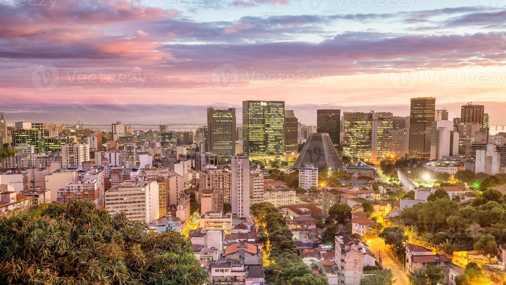utsikt över Rio de Janeiro foto