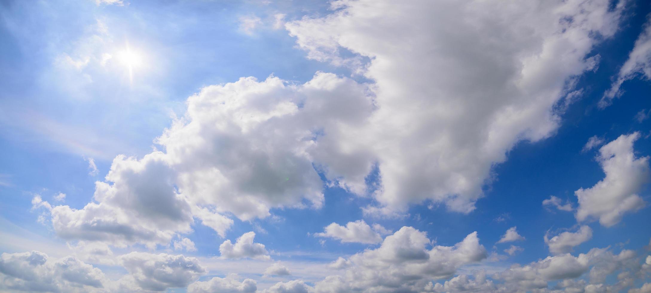 molnhimmel på dagtid foto