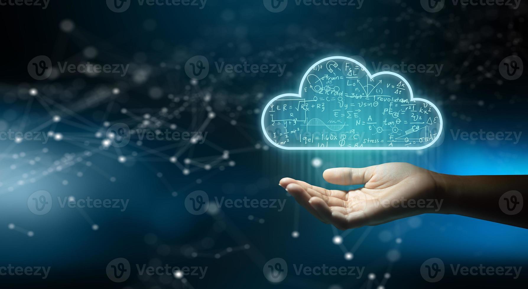 molnberäkningsteknik internetlagringsnätverk. foto
