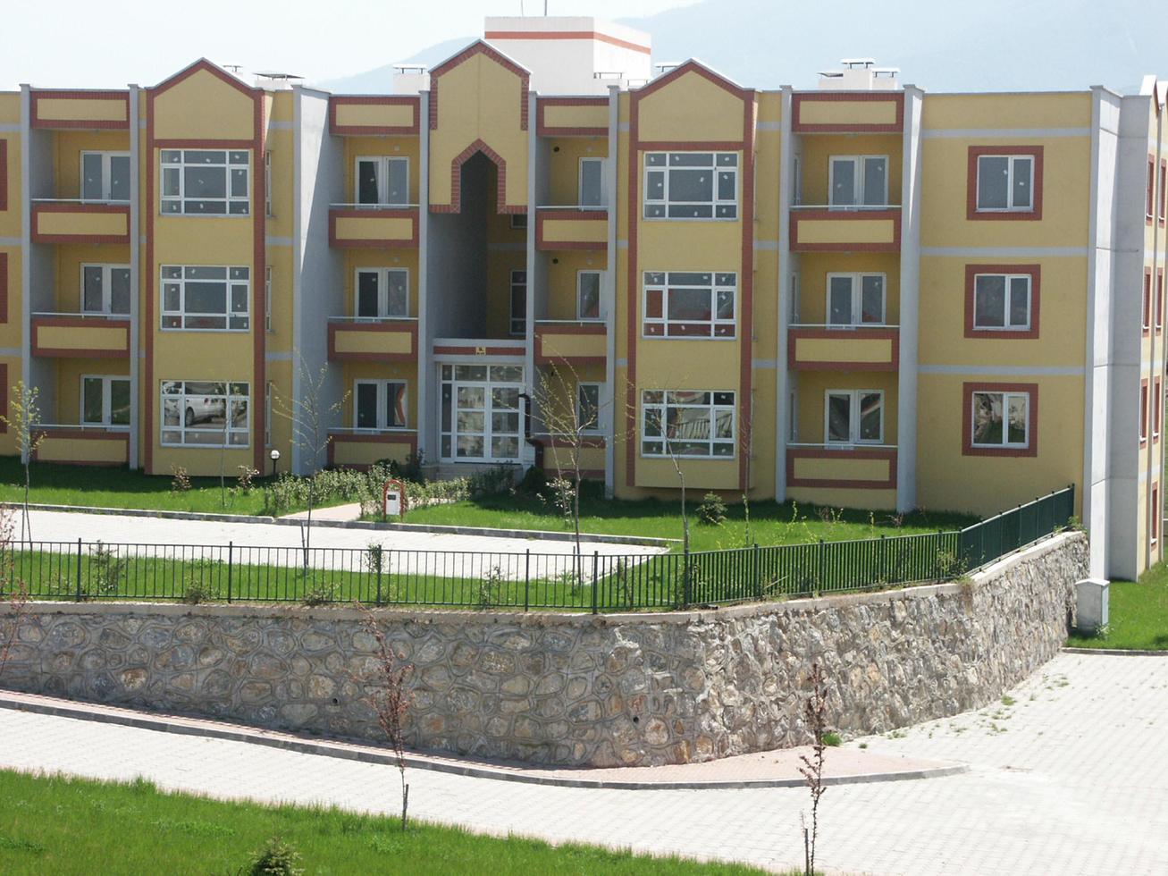 allmänna bostadskooperativa byggnader foto