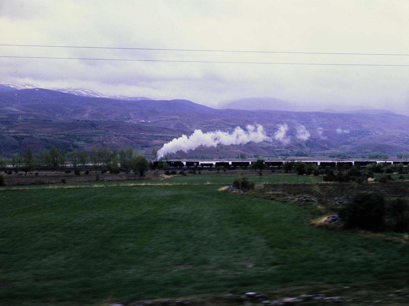 ångtåg och anatolien foto