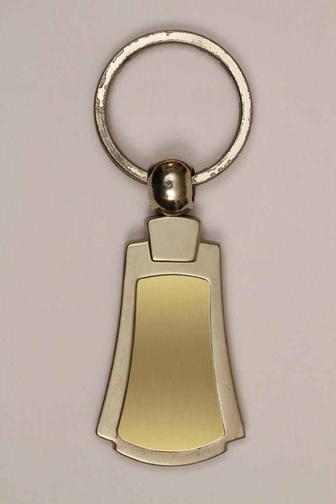 nyckelring används som en kampanj. foto
