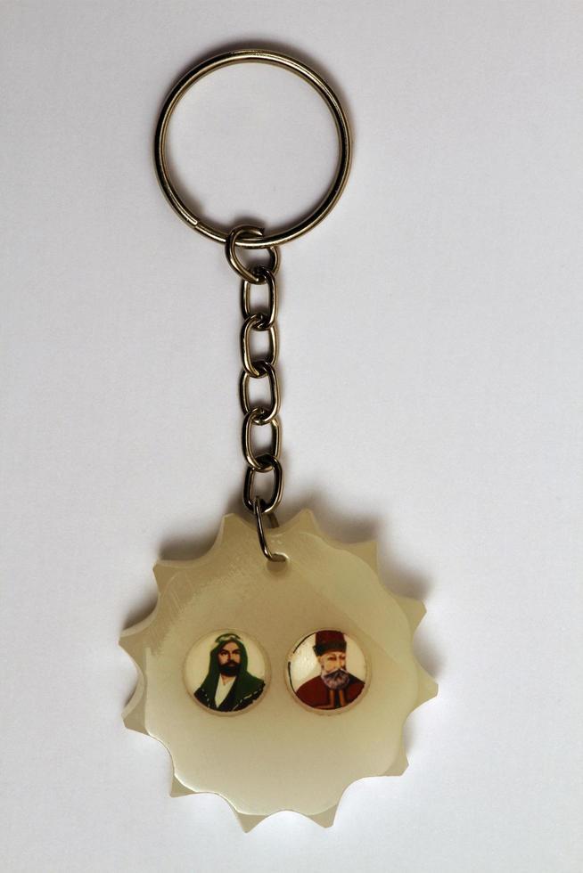 kalkon, 2021 - nyckelring med dekoration foto