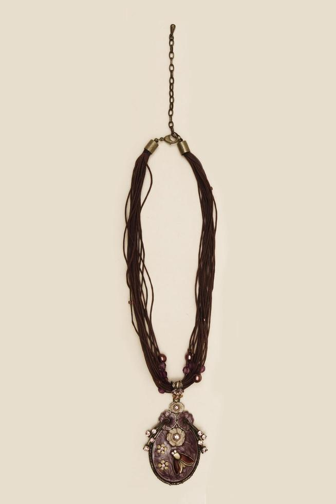 kalkon, 2021 - handgjorda smycken närbild foto