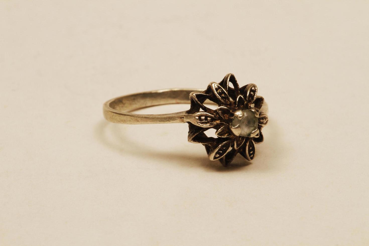 istanbul, kalkon, 2021 - handgjord antik ring foto