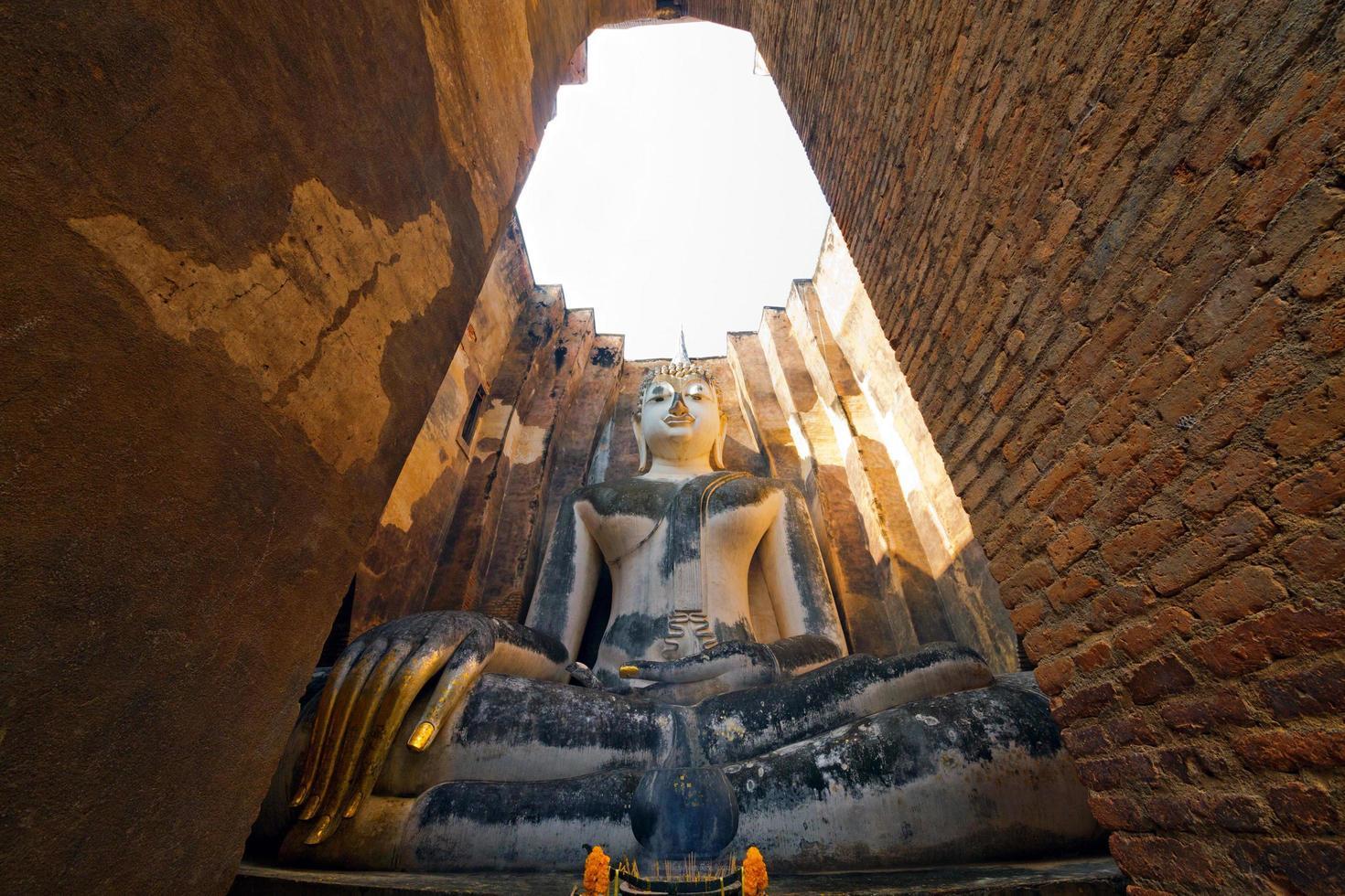 sukhothai historiska park, thailand, världsarv foto